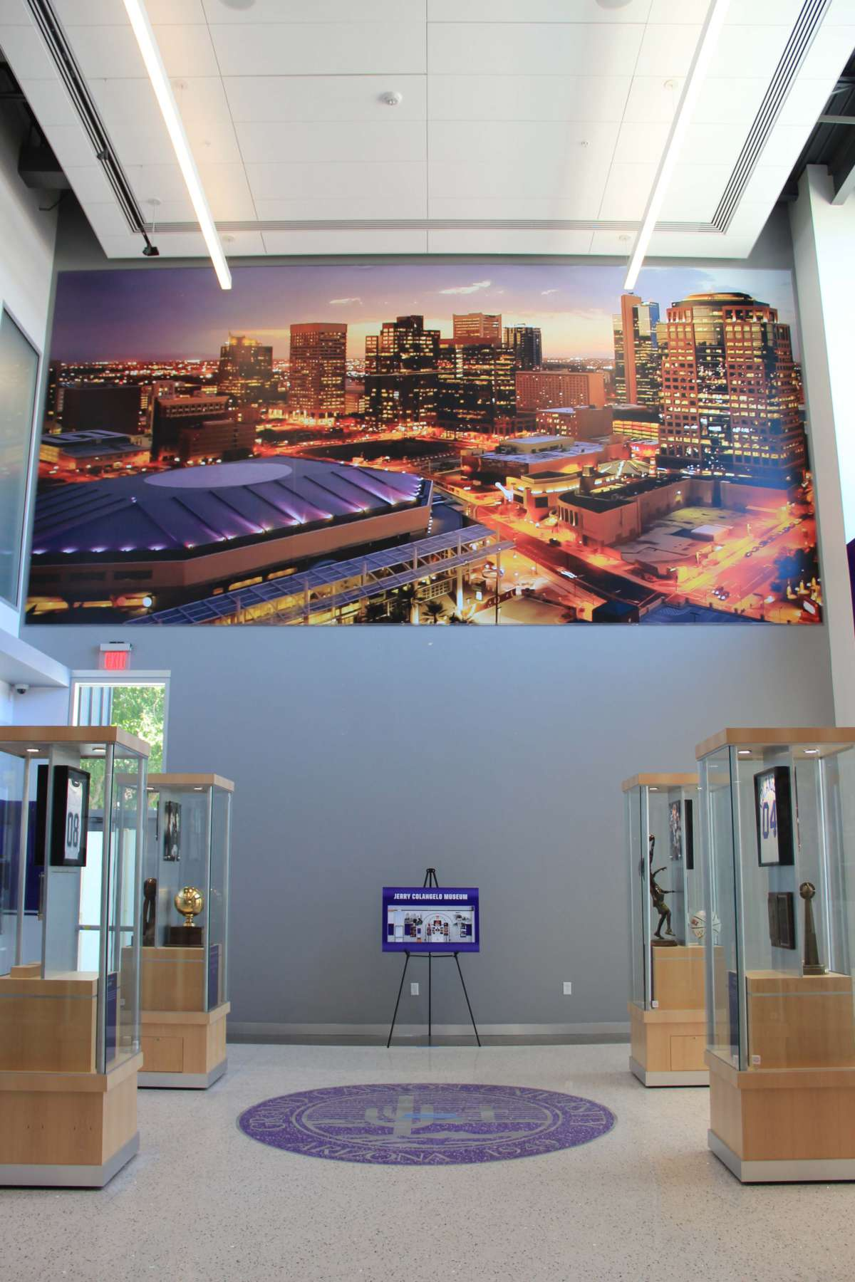 GCU Jerry Colangelo Museum Grand Opening Large Event Banner