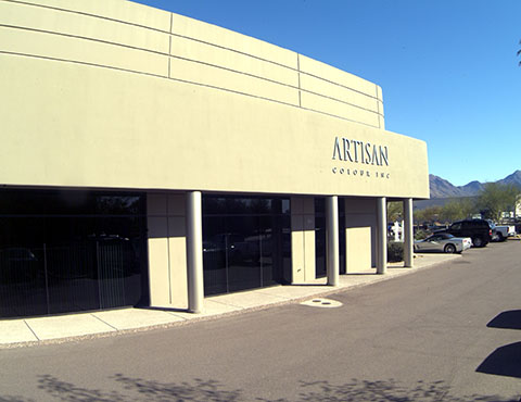 Artisan History: Artisan Colour Second Location Building Front