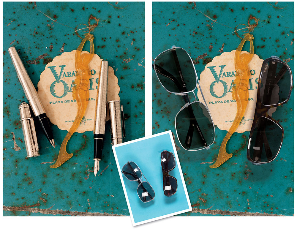 sunglasses product photography image manipulation by Artisan Colour Photography Studio