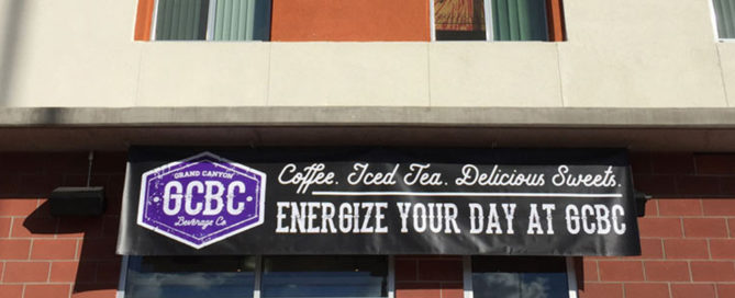 GCU Grand Canyon Beverage Co Coffee Promotional Banners