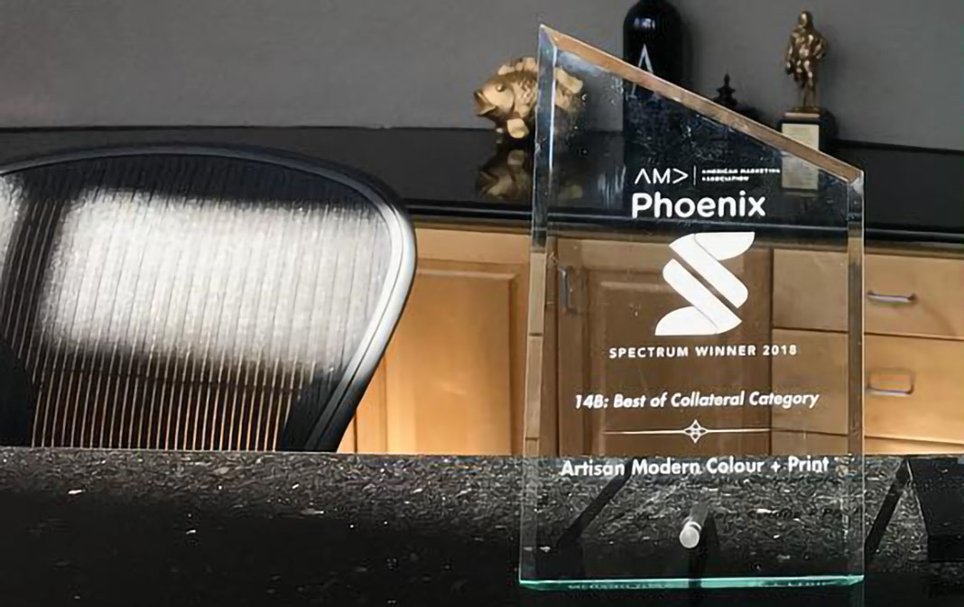 Best Collateral AMA Spectrum Award 2018