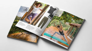 prAna mail order catalogs by ArtisanColour with best color separation on uncoated paper