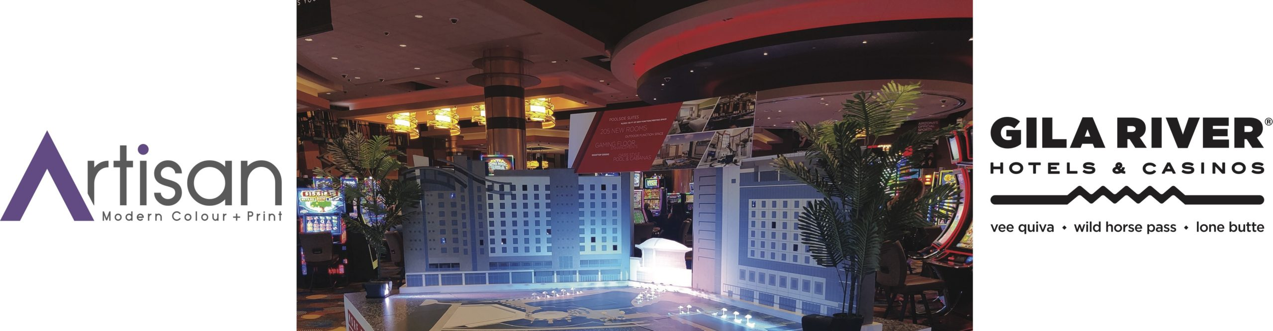 Architectural Rendering Services for Gila Wild Horses by Artisan Colour