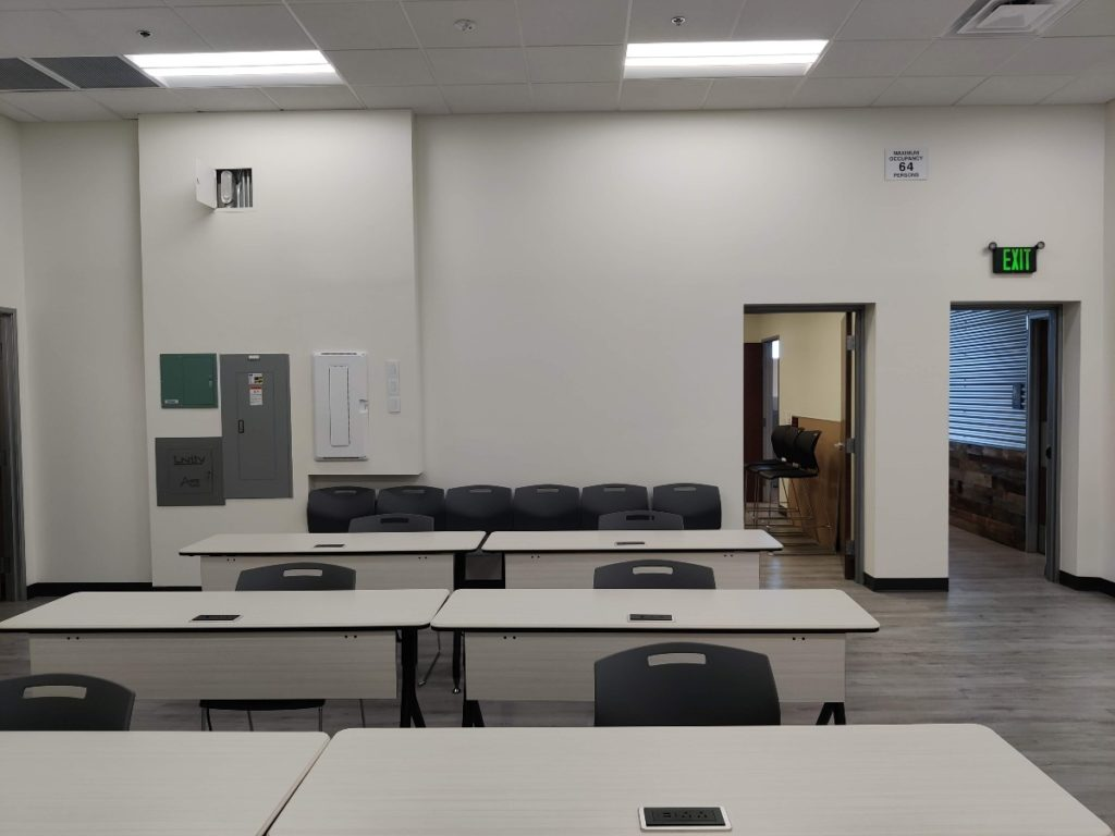 Allied Training Room Before web