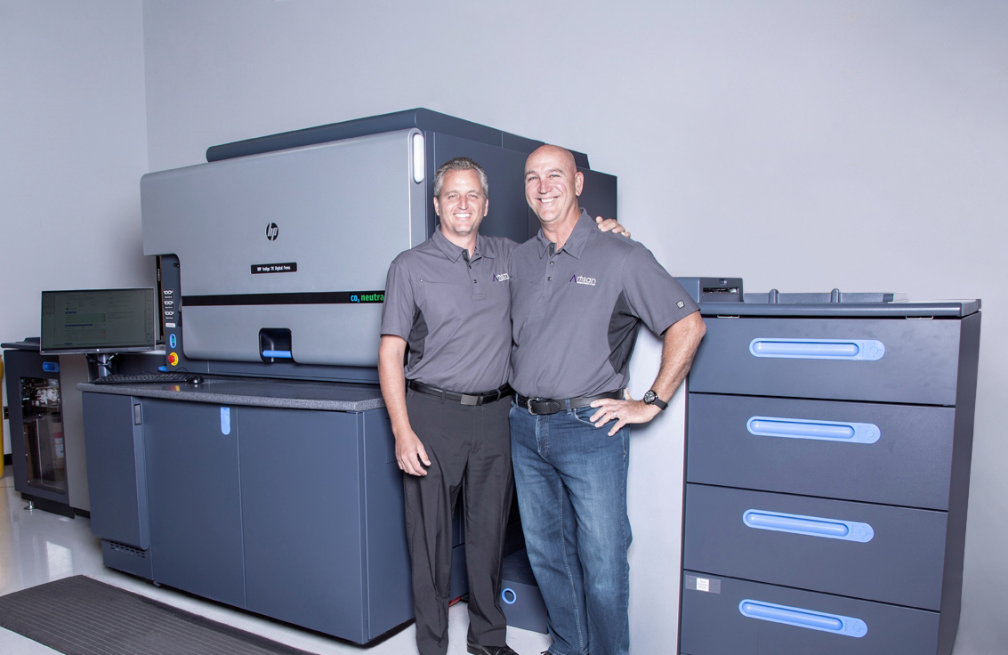 Artisan Colour Owners with new special inks HP Indigo 7K Press