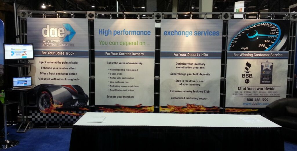 DAE Trade Show Booth c